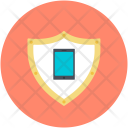 Mobile Security Shield Icon