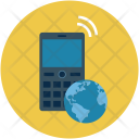Mobile Phone Map Icon