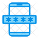 Mobile Password Security Icon