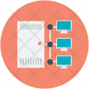 Mobile Communication Network Icon