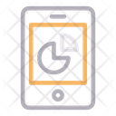 Mobile Phone Chart Icon