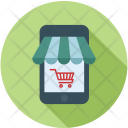 Mobile Buy Ecommerce Icon