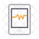Mobile Pulses Phone Icon