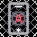 Mobile Login Phone Icon