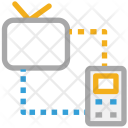 Tv Mobile Connection Icon