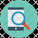 Mobile Research Paper Icon