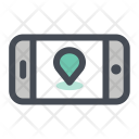 Mobile Navigation Location Icon