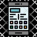 Mobile Phone Communication Icon