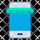Mobile Kiosk Phone Icon