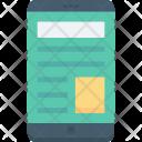 Mobile Site Responsive Icon
