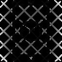 Mobile 3 D Design Icon