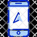 Mobile Navigation Pin Icon