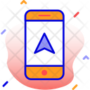 Mobile Navigation Pin Icon