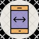 Mobile Arrow On Icon