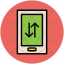 Mobile Connectivity Arrows Icon