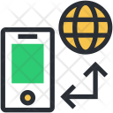 Mobile Communication Connections Icon