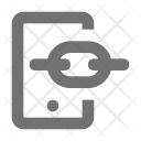 Mobile Connectivity Linkage Icon