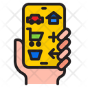 Mobile Phone Home Icon