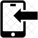 Mobile Arrow Data Icon