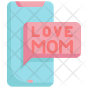 Mobile Message Love Icon