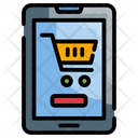 Mobile Commerce Shopping Icon