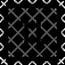 Mobile Data Exchange Icon