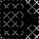Mobile Key Data Icon