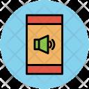 Mobile Screen Volume Icon