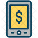 Mobile Online Payment Icon