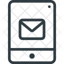 Mobile Tablet Mail Icon