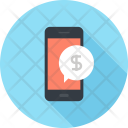 Mobile Online Business Icon