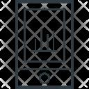 Mobile Graph Cell Icon