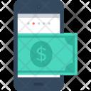 Mobile Payment Tarnsaction Icon