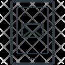 Mobile Screen Sms Icon