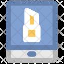 Mobile Screen Lipstick Icon