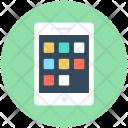 Mobile Menu Smartphone Icon