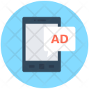 Mobile Advertising Publicity Icon