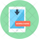 Mobile Downloading Download Icon