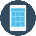 Mobile Wireframe App Icon