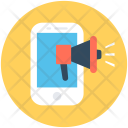 Mobile Advertising Announcement Icon