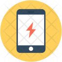 Mobile Flash Sign Icon