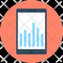 Mobile Graph Bar Icon
