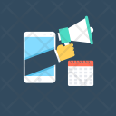 Mobile Marketing Network Icon