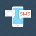 Mobile Chat Sms Icon