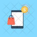 Mobile Shopping Shop Icon