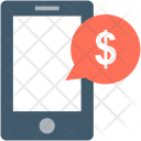 Mobile Chat Customer Icon