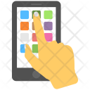 Mobile Accessibility Touch Icon