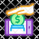 Mobile Account Replenishment Icon
