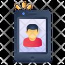 Online User Mobile Account Mobile Profile Icon