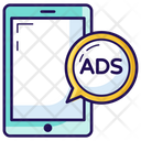 Ads Online Ads Mobile Ads Icon